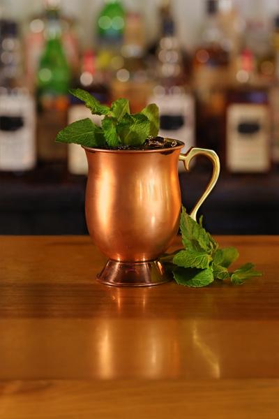 Stolen Smoked Rum Mule Cocktail Recipe