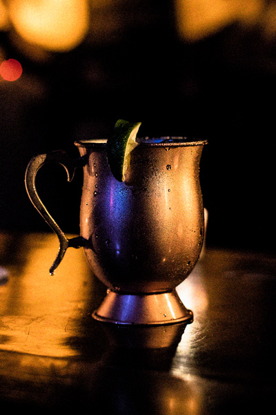 Stolen Smoked Rum Moscow Mule Cocktail Recipe