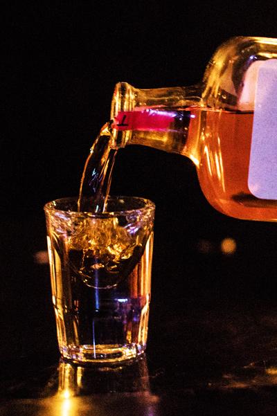 Stolen American Whiskey Shot