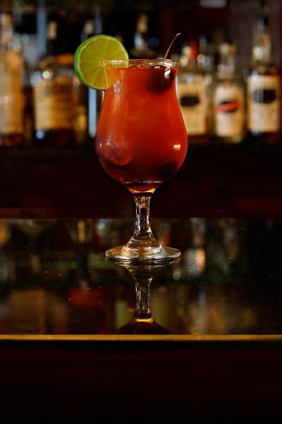 Stolen Cherry Punch Rum Cocktail Recipe