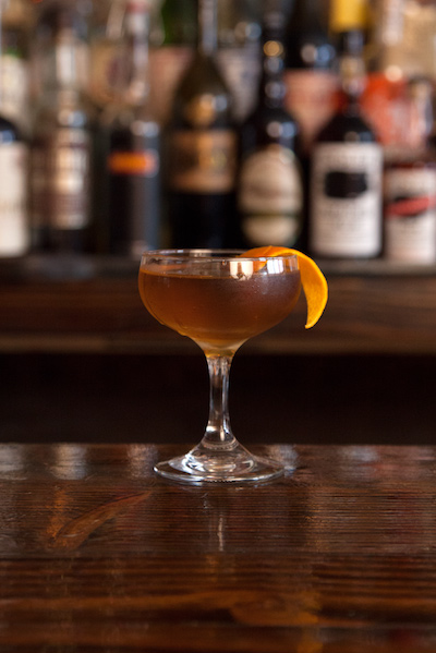 Stolen Whiskey Cocktail Recipe Manhattan