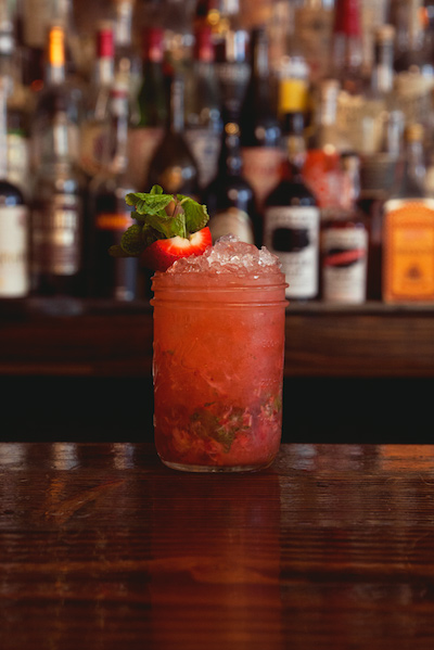 Stolen Whiskey Cocktail Recipe Strawberry