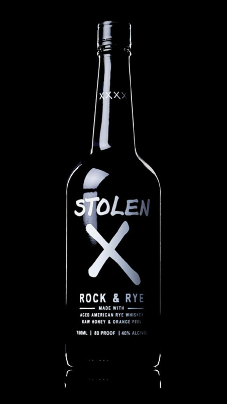 Stolen X Rock and Rye Whiskey