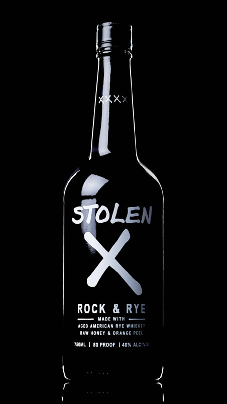 Stolen X Rock & Rye American Whiskey
