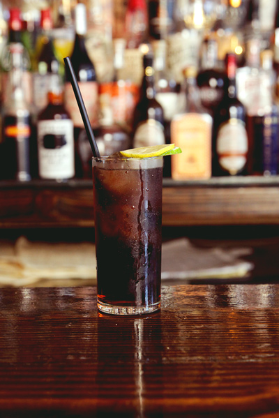 Stolen Cocktail Recipe - Rum and Cola